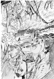 Scène #2 : traversée des Monts Noirs